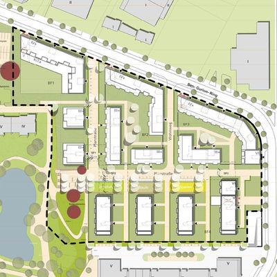 Glasmacherviertel d sselpark planquadrat - Planquadrat architekten ...